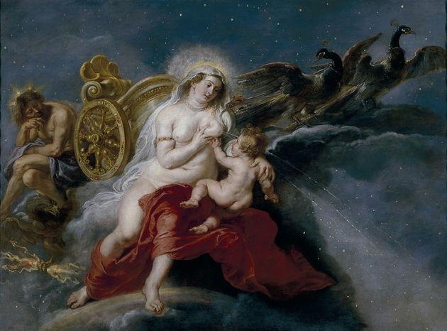 Mito da criação da Via Lactea