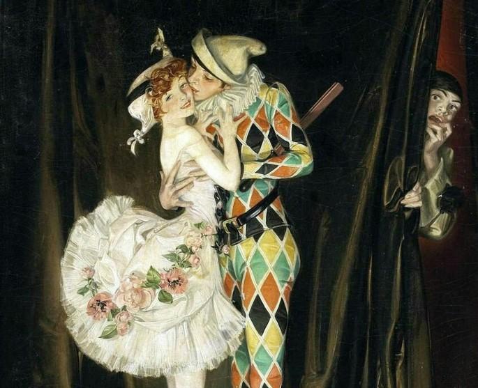 O beijo de Arlequim (1921)