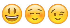 Exemplos de emoji