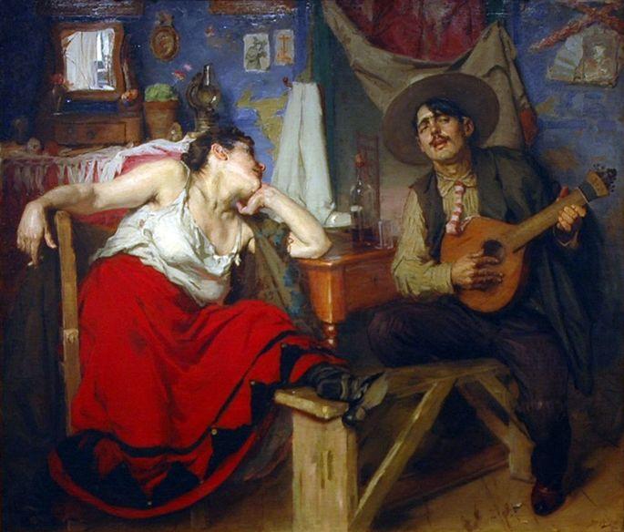 O Fado (1910), de José Malhoa