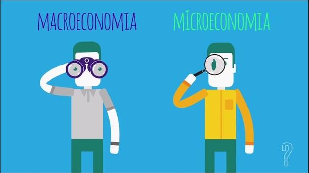 Diferença entre Macroeconomia e microeconomia