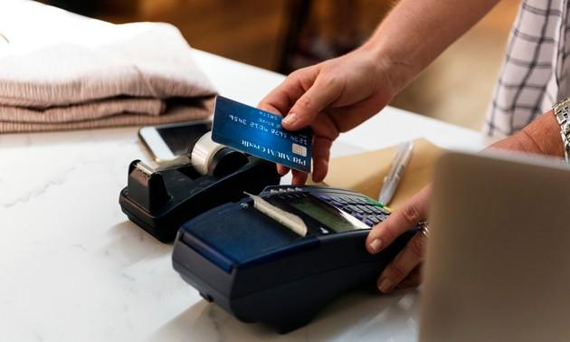 Máquina de cartão de crédito e débito