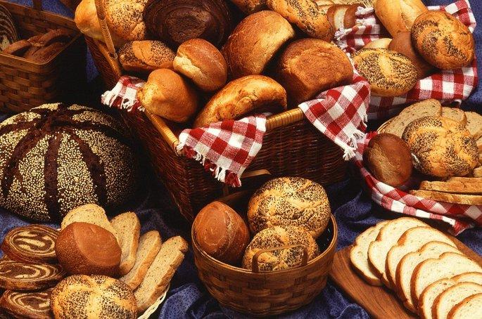 Pães, fontes de carboidratos