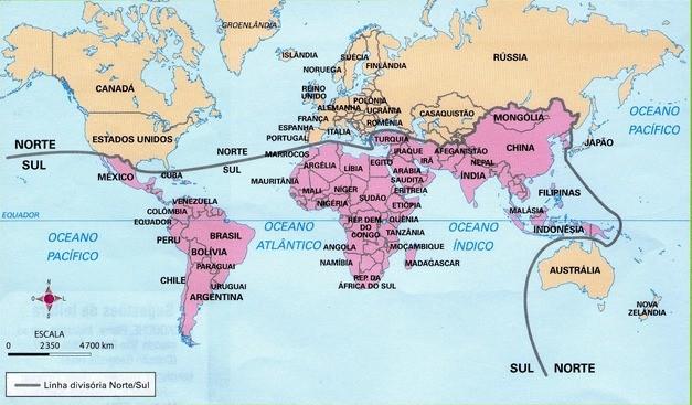 Países desenvolvidos e subdesenvolvidos