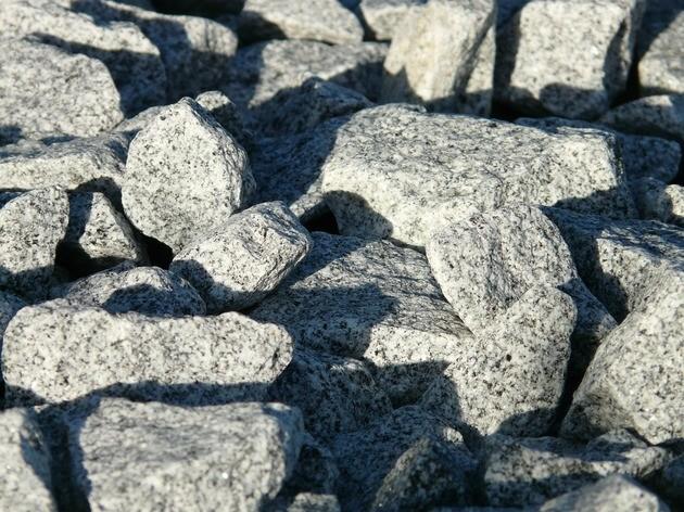 Pedras de granito