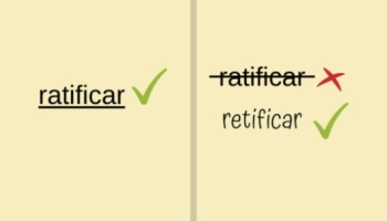 Ratificar e retificar