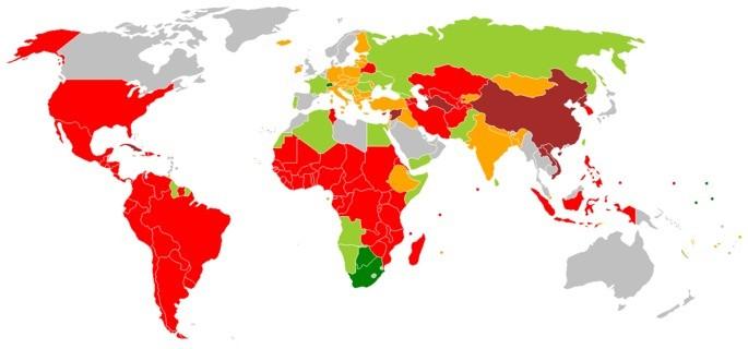Repúblicas no mundo