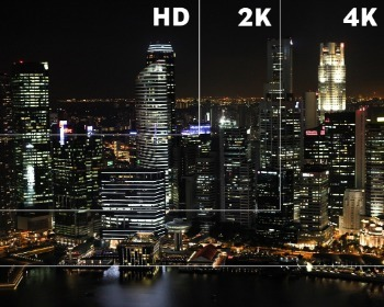 Resoluções HD, Full HD, Ultra HD, 4K, 8K